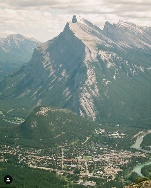 Town of Banff, Rundle Mountain