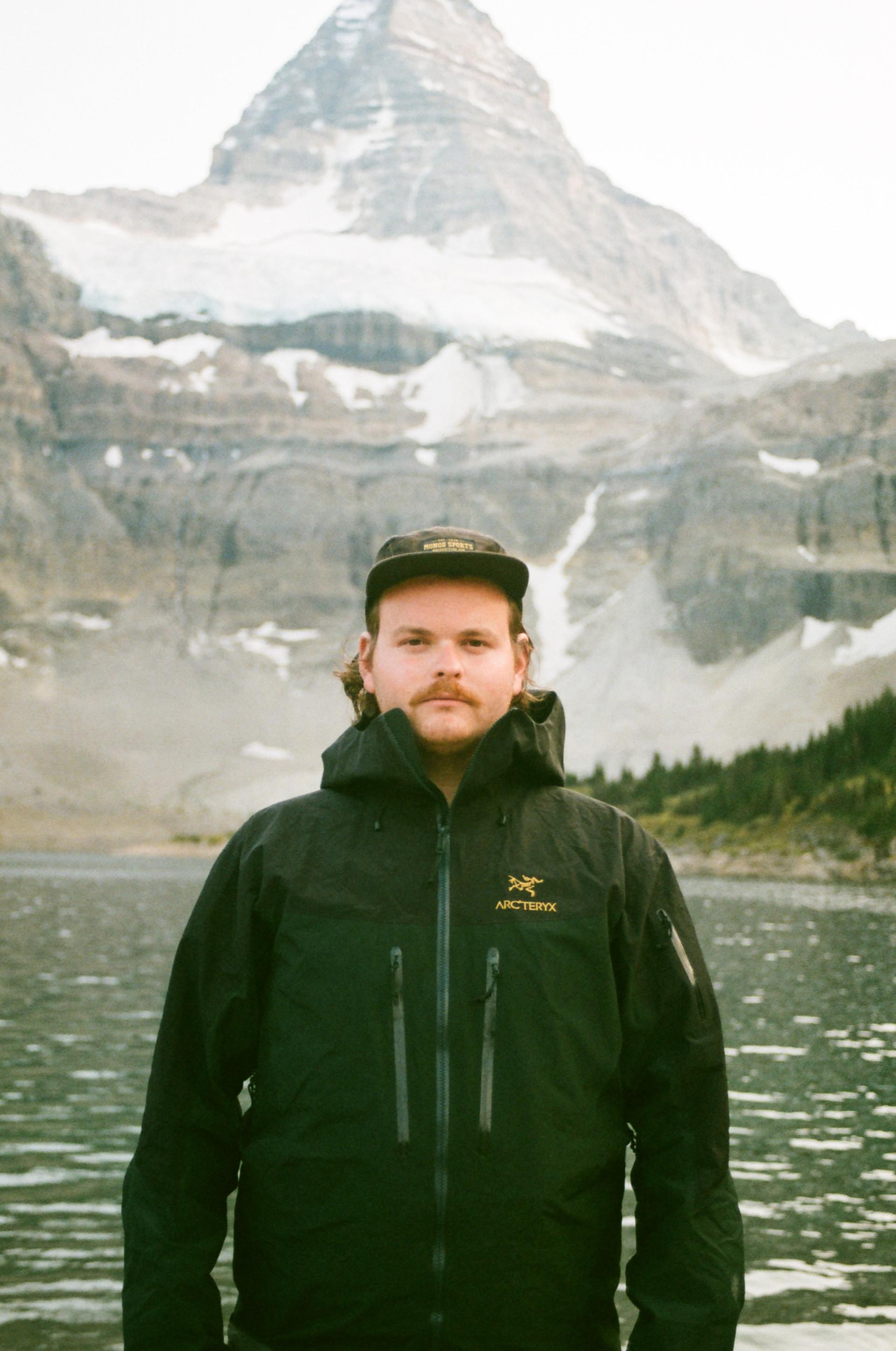 Jay Portrait, Mt Assiniboine