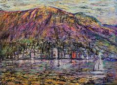 Sundays in Hobart painting