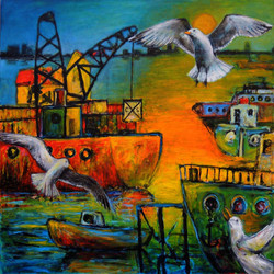 Salt water and seagulls