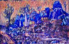 Men of stone - near Windjana Gorge paint