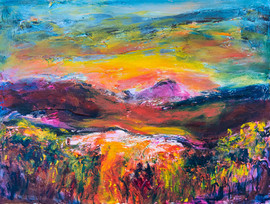 Kimberley view landscape painting
