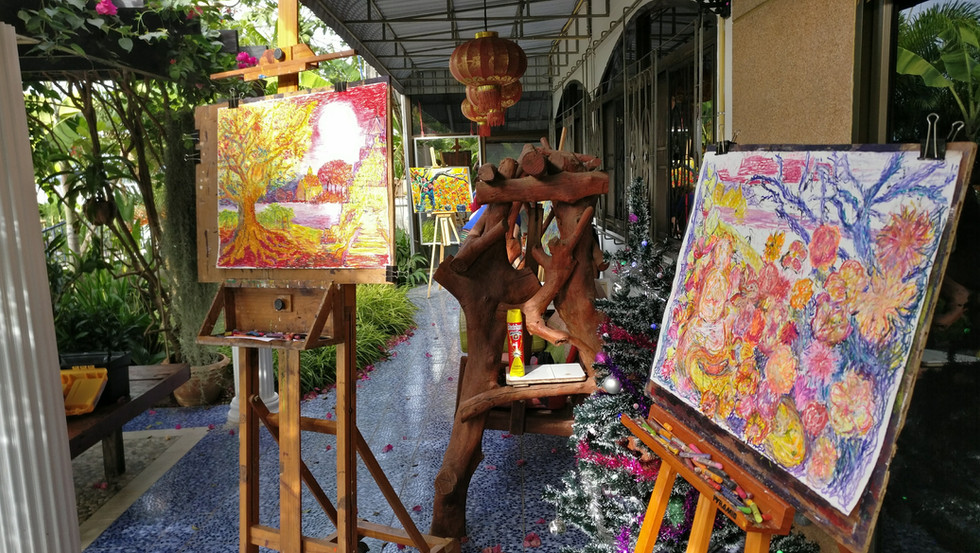 The Terrace - Thailand Painting Holidays