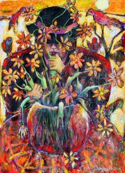 #1059 'The flower arranger'