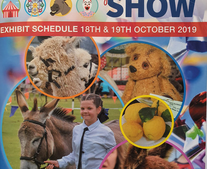 I judged the Kelmscott agricultural show