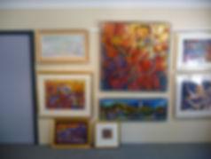 Jeremy Holton's Perth artist studio