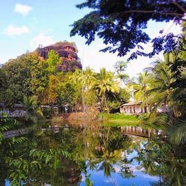 The mountain monastery Wat Phu Tok Thail