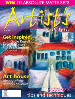 Artist's Palette Magazine Cover