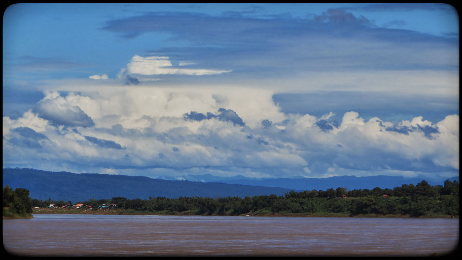View of Mekong and Lao