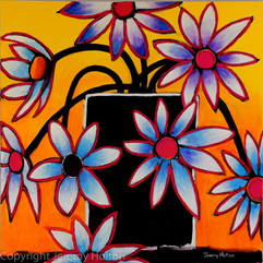 Only for you flower painting