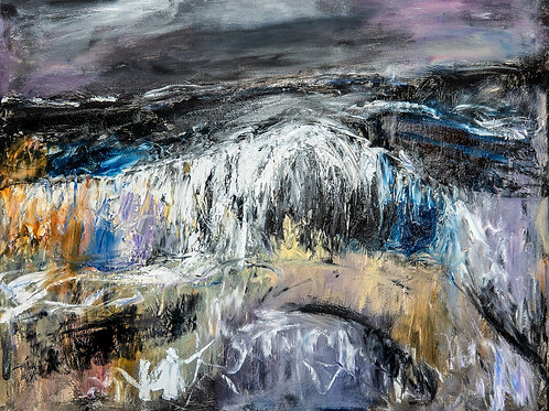 The dark storm - Oil painting by Jeremy Holton
