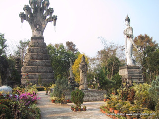 The history of Sala Kaew Ku