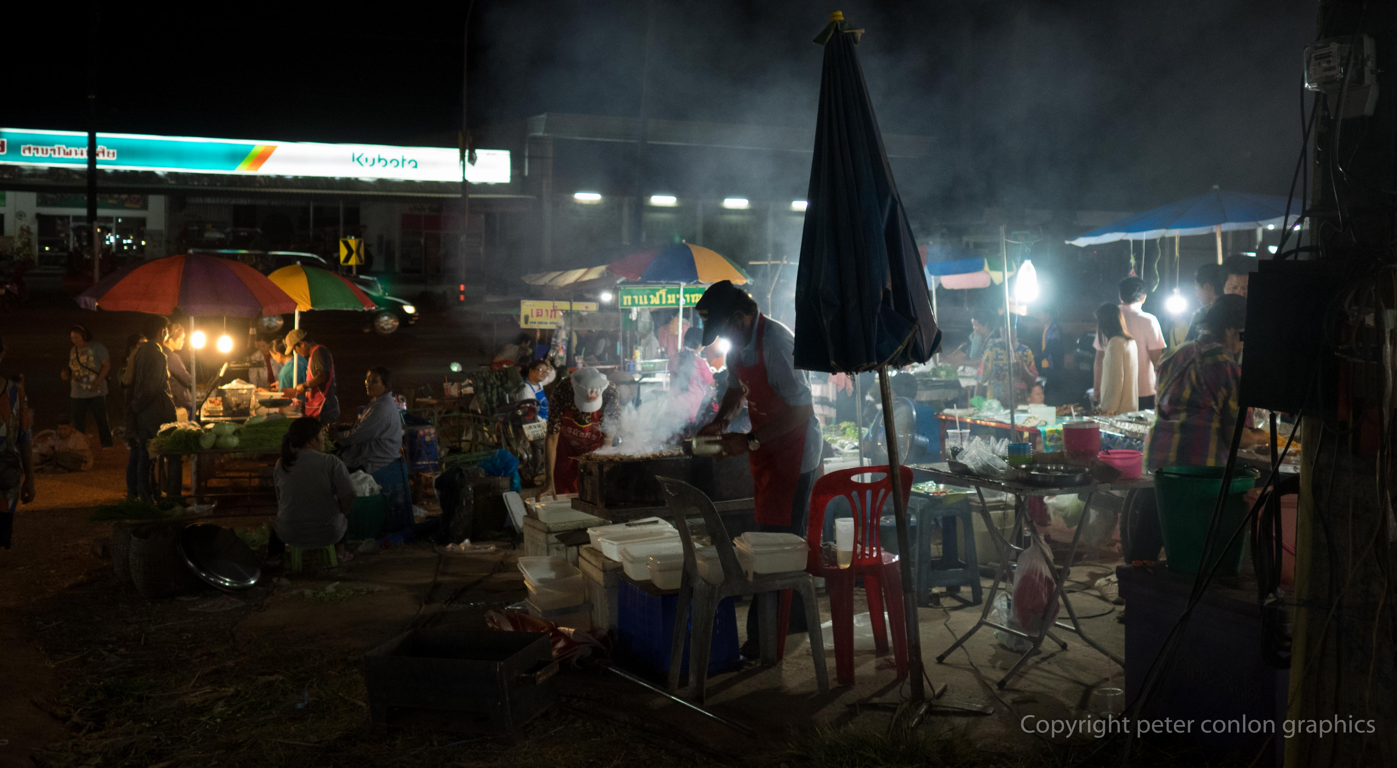 A night market