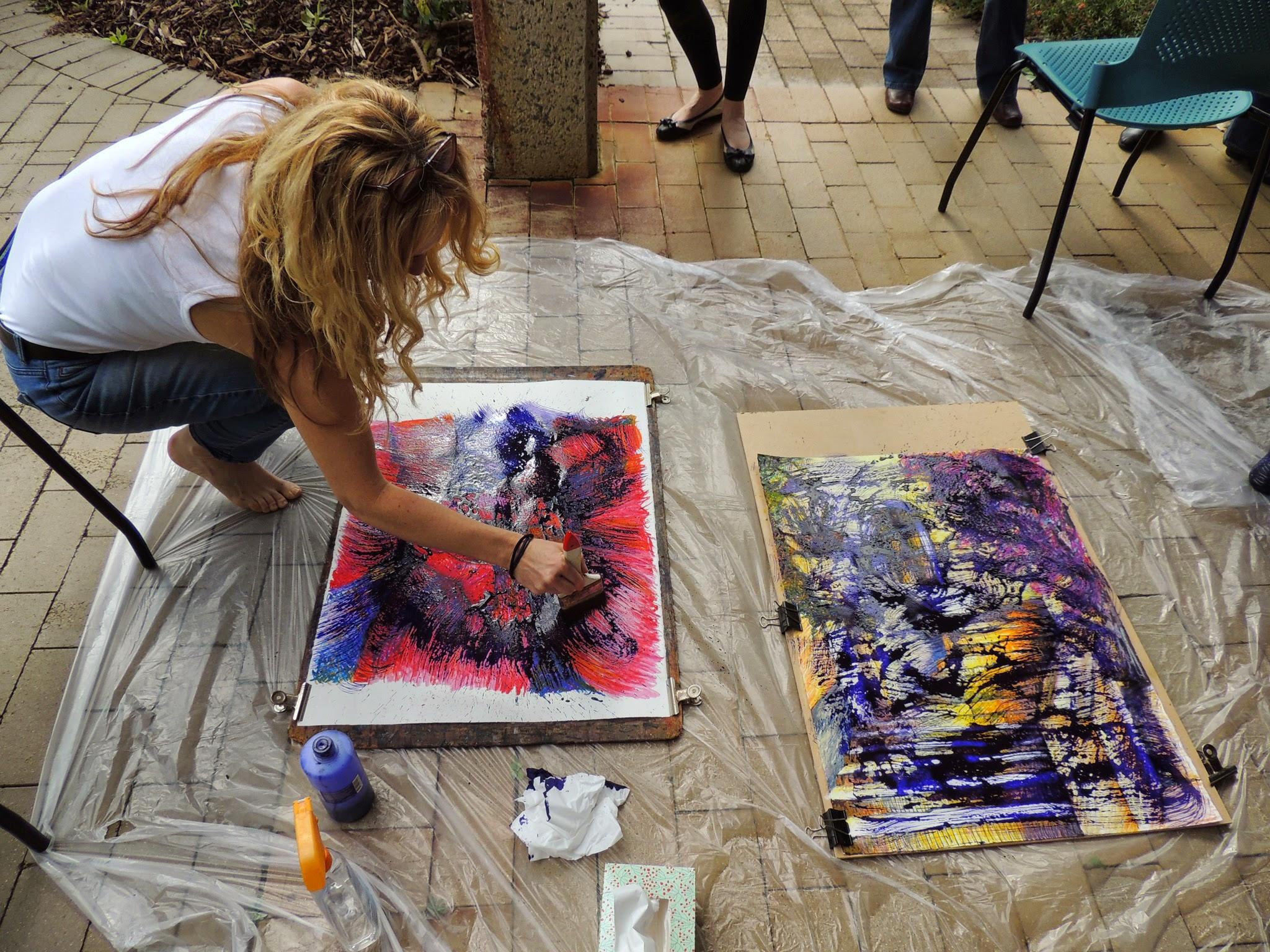 Pastel classes Murdoch University 2014_0534