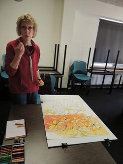 Pastel classes Murdoch University 2014_0547