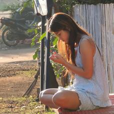 Girl in a dream