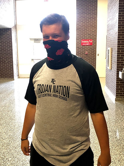 Black Trojan Nation Shirt