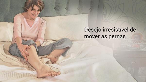 Do inquietas sono síndrome pernas distúrbios das