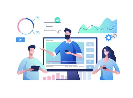 סטטיסטיקה | נתוני צפייה בוידאו | אנימציה 2020