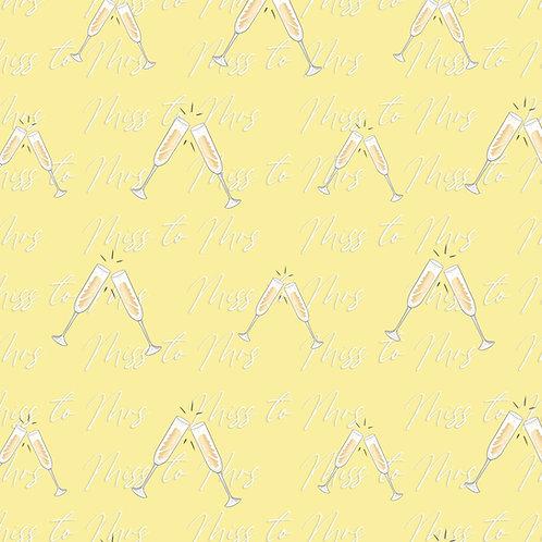 Champagne Dreams Gift Wrap -  SamiaLynn X Howard & Bow