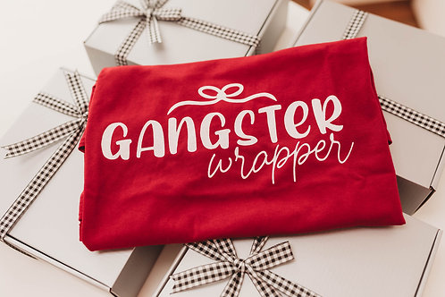 Gangster Wrapper T-Shirt (Red)
