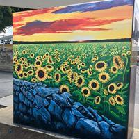 The Sunflower Mural