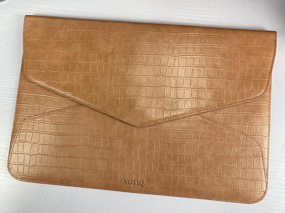 Brown Sugar Croco Tech Clutch