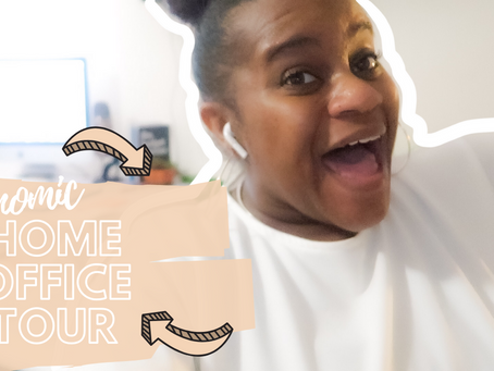 Home Office Tour : All The Essentials To Being A GirlBoss