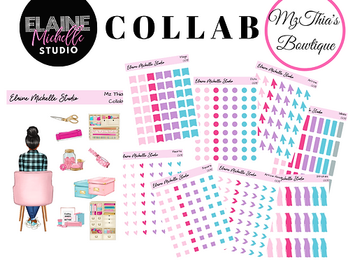 Planning Essentials- Mz.Thia's Bowtique Collab