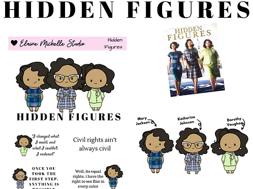 Hidden Figures- Special Edition Bit