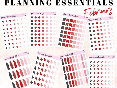 Planning Essentials Bundle- February