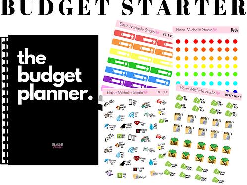 Budget Planner Starter Pack