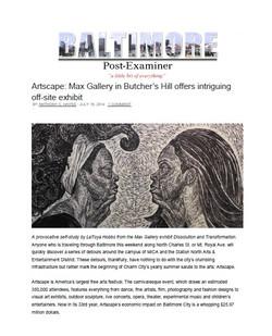 Baltimore Post Examiner 2014