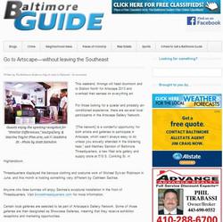 Baltimore Guide Artscape Article