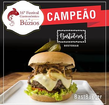 Campeão 16º Festival Gastronômico de Búzios 2018