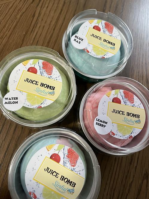 Passion fruit Juice bomb