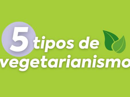 Os 5 tipos de vegetarianismo