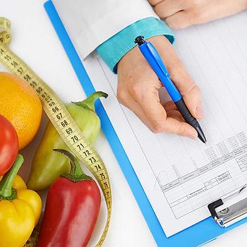 consulta com a nutricionista