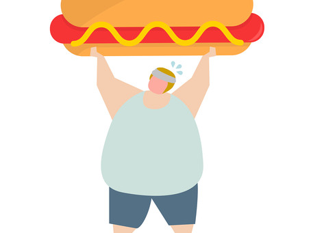 Sobrepeso e desnutrição. Pode isso?