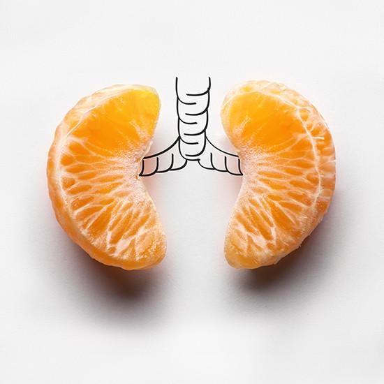 A boa alimentação e as doenças respiratórias