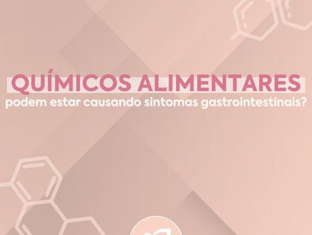Químicos alimentares podem estar causando sintomas gastrointestinais?