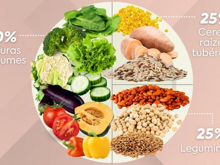 Como montar um prato VEGANO saudável