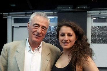 avec Alkis Raftis - Président du CID Unesco
