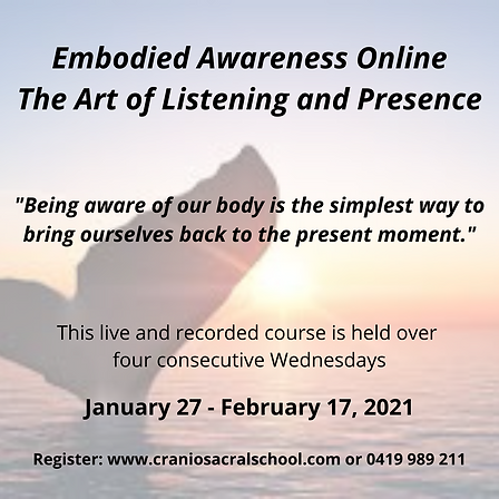 Embodied Awareness The Art of Listening