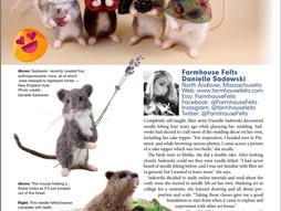 Farmhouse Felts will be in Handmade Business Magazine!