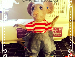 Character Critters & A Mouse Named Popover