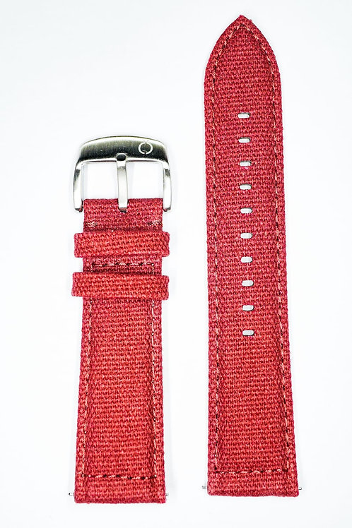 High Quality Red Hemp Strap