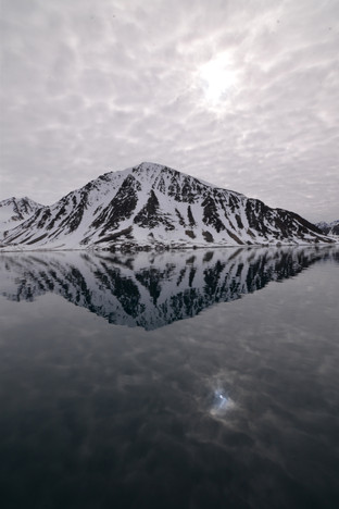Reflections of a Glacier
