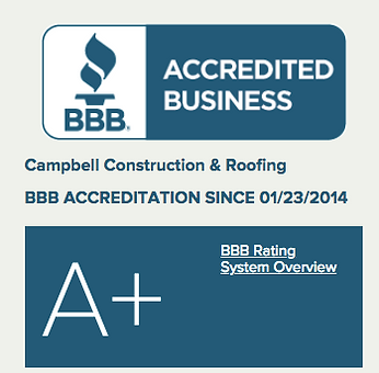 A+ BBB Rating Campbell Construction and Roofing