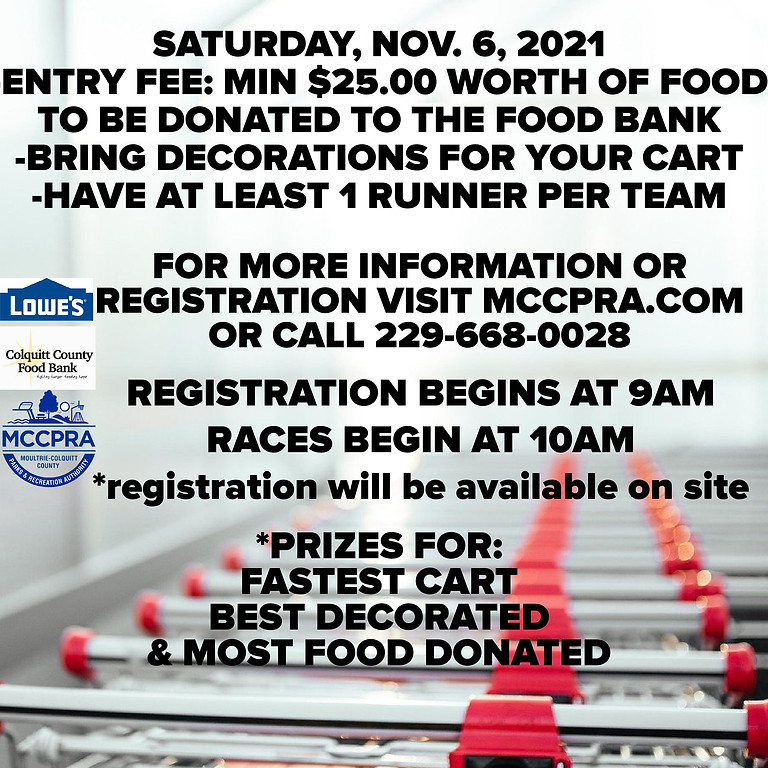 Annual Stocked Cart Race